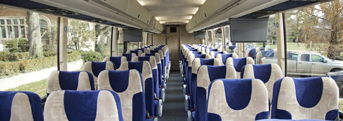 Inside View of Michigan Flyer